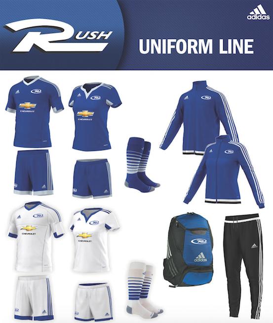 fdb16d8d7 New Rush Uniforms Coming Fall 2015! - Rush Canada Soccer Academy
